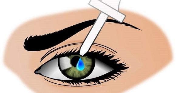 Использование при воспалении слизистой глаз