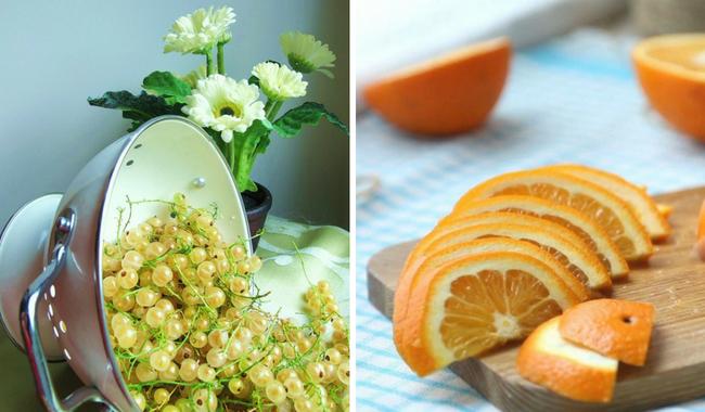 Витаминный микс с апельсинами