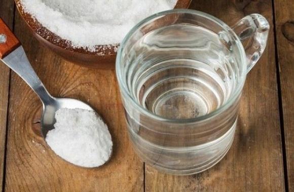 вымачивание в соленой воде