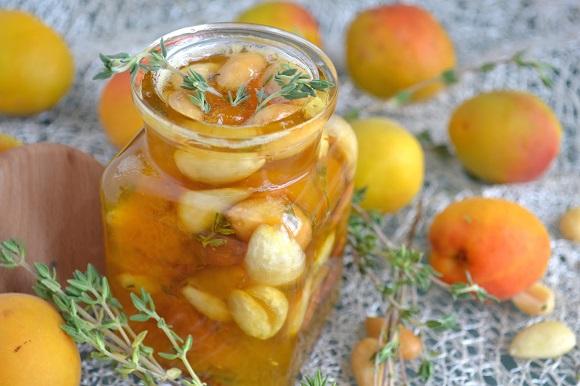 апельсины с абрикосом