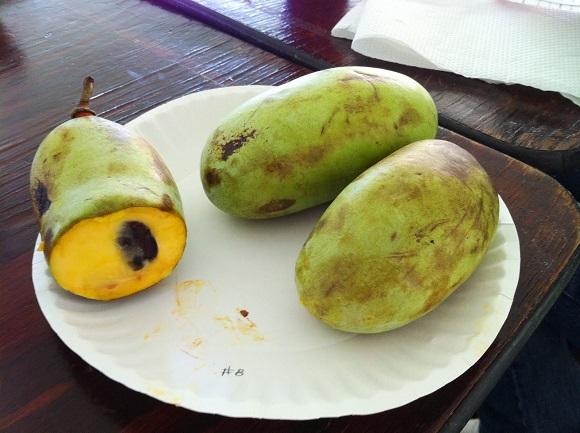 Подросшие плоды
