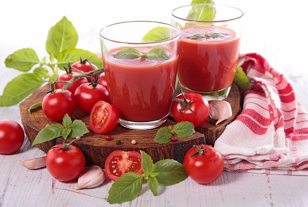 Домашний напиток из томатов